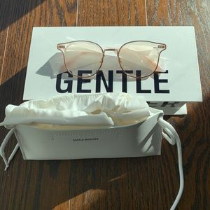 Gentle Monster Alio C1 semi-rimless frame glasses